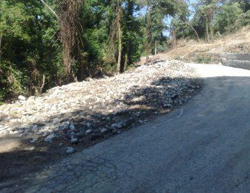 Messa in sicurezza scarpata strada della Diga della Busalletta