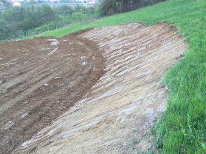 Preparazione area per Cascina Agricola Polifunzionale