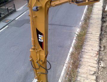 Preparazione area per costruzione box