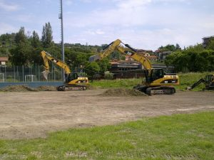 Demolizione STADIO FERDEGHINI