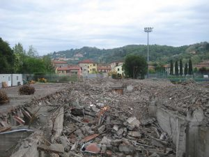 Demolizione STADIO FERDEGHINI