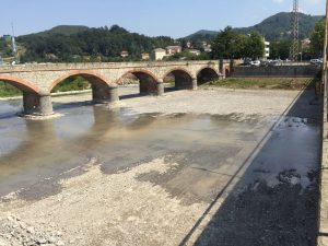 Sistemazione Torrente Scrivia in prossimità delle vasche di presa dell'acquedotto